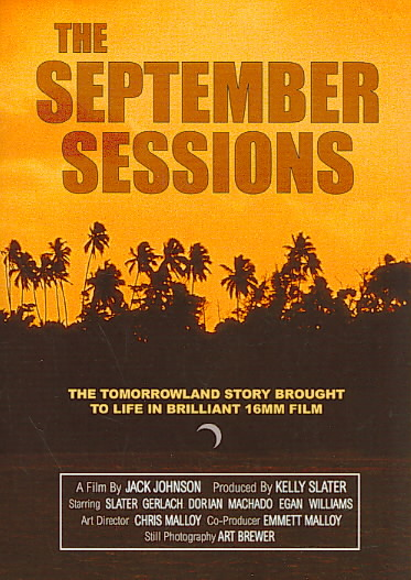 SEPTEMBER SESSIONS BY JOHNSON,JACK (DVD)
